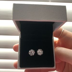 Juicy Couture Princess Cubic Zirconia Earrings
